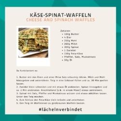 Rezept für Käse-Spinat-Waffeln