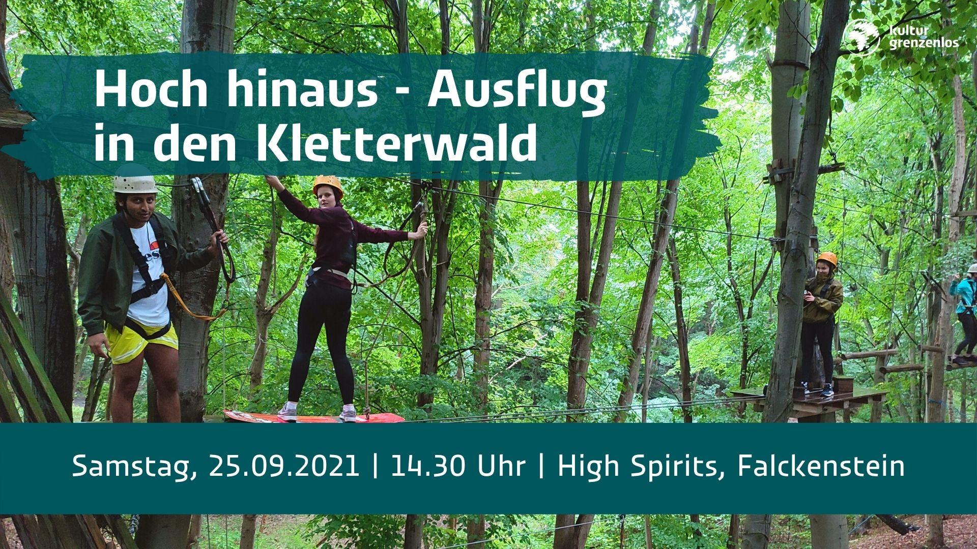 Kletterwald-Ausflug am 25.09.21
