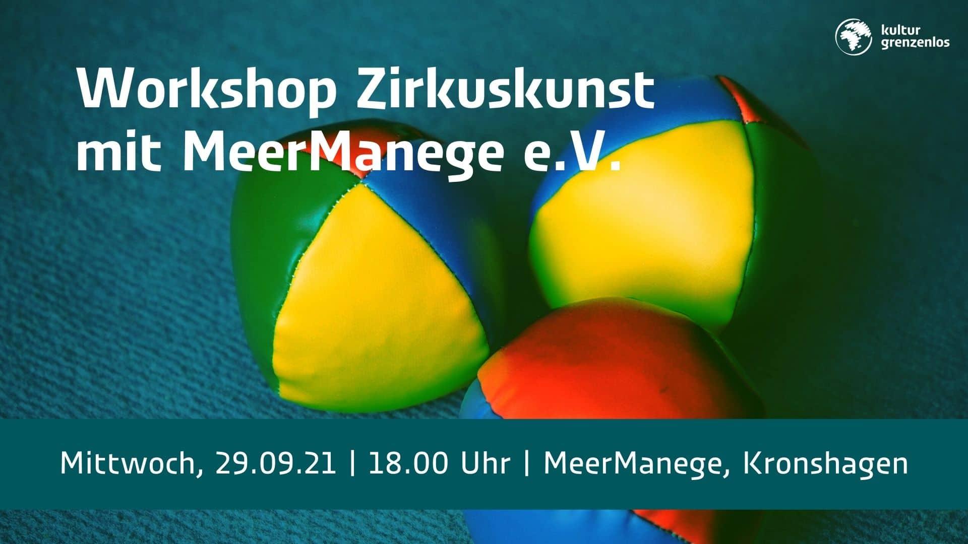 Zirkus-Workshop am 29.09.21