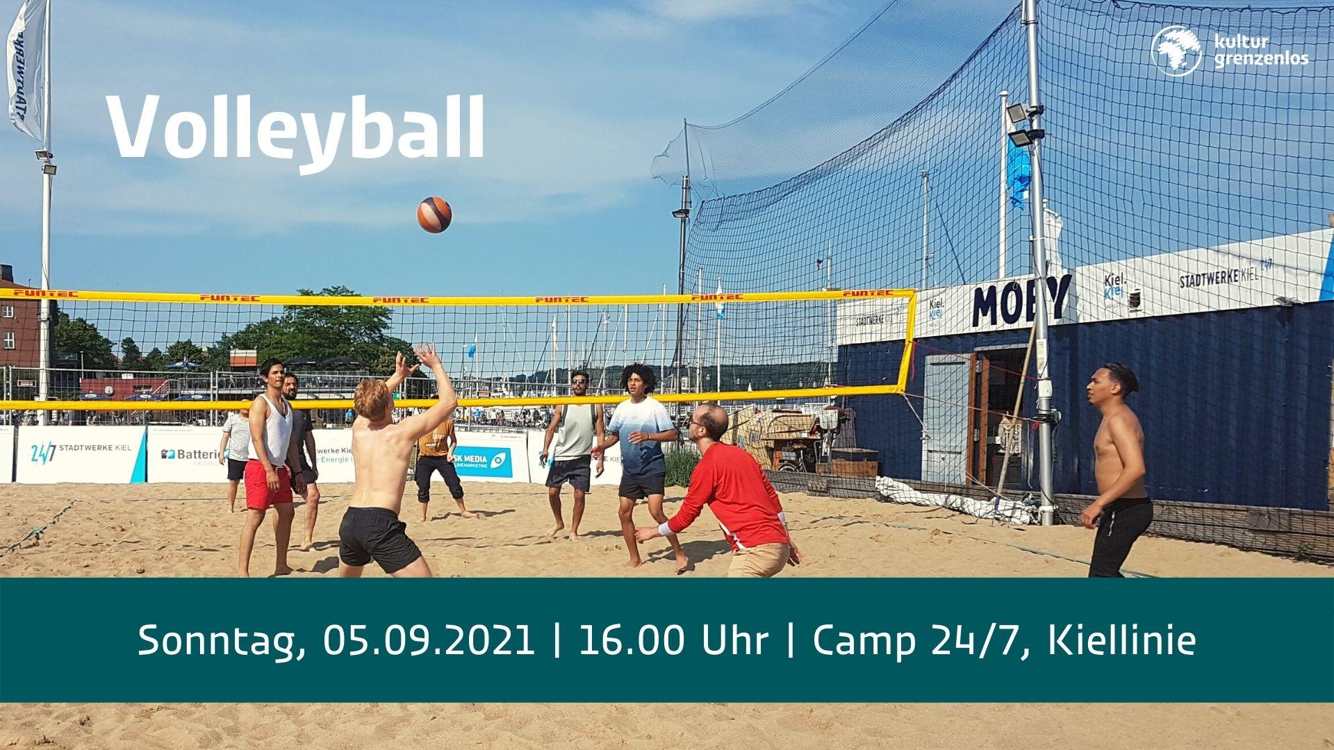 Volleyball ist am 05.09.21