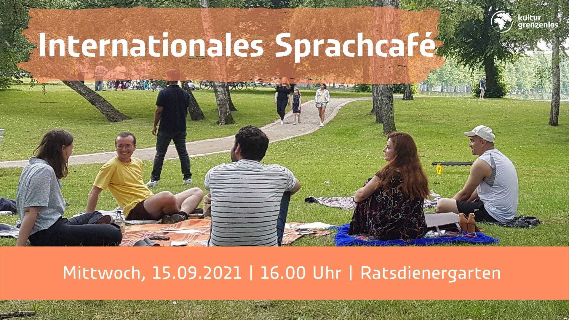 Internationales Sprachcafé am 15.09. um 16 Uhr im Ratsdienergarten